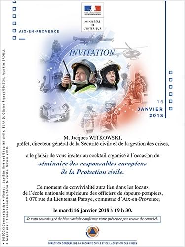 Directeurs européens Protection civile
