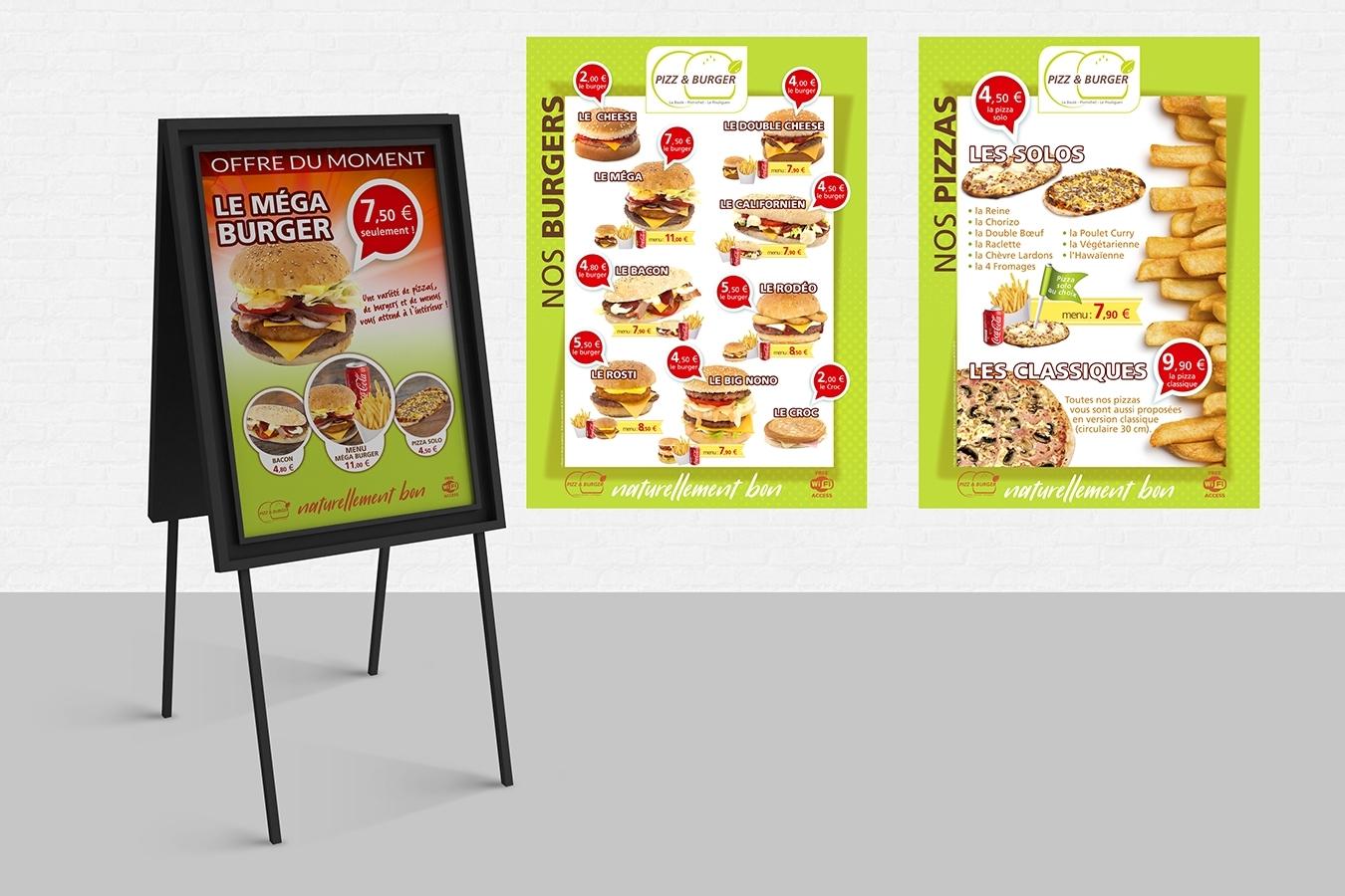 Break-Time Pizz & Burger