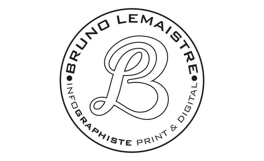 Logo monogramme Bruno Lemaistre